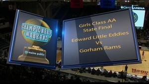 Edward Little vs. Gorham Girls Class AA 2018 State Final