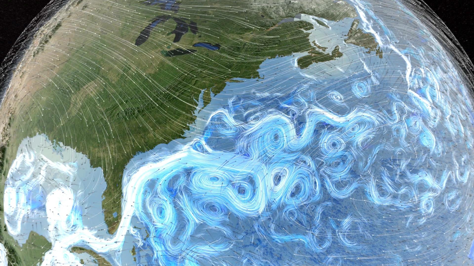 Oddly Shaped Weather Map.Decoding The Weather Machine Nova Pbs