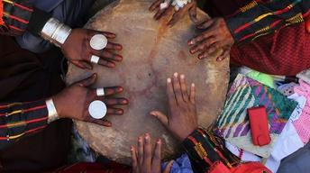 For Mali's Tuareg, music speaks of suffering and the Sahara