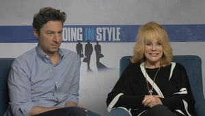 """Zach Braff and Ann-Margaret for """"Going in Style"""""""