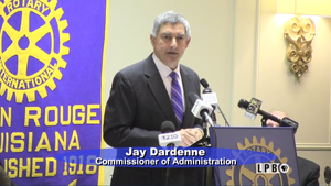 Jay Dardenne, Commissioner of Administration