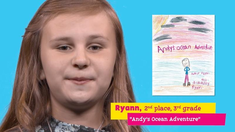 "Featuring ""Andy's Ocean Adventure"" by Ryann"