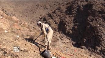 In Afghanistan, clearing landmines to save lives