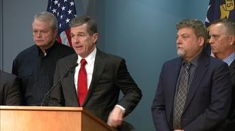 NC Governor Roy Cooper's Weather Briefing - 03/12/18