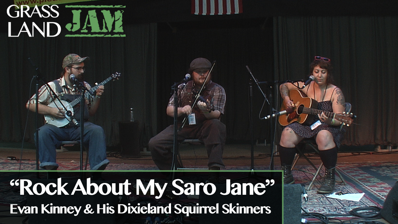 """Dixieland Squirrel Skinners """"Rock About My Saro J"""