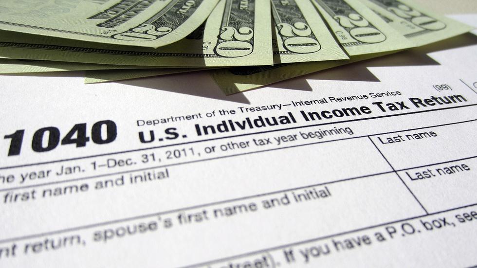 Republican tax overhaul moves forward image