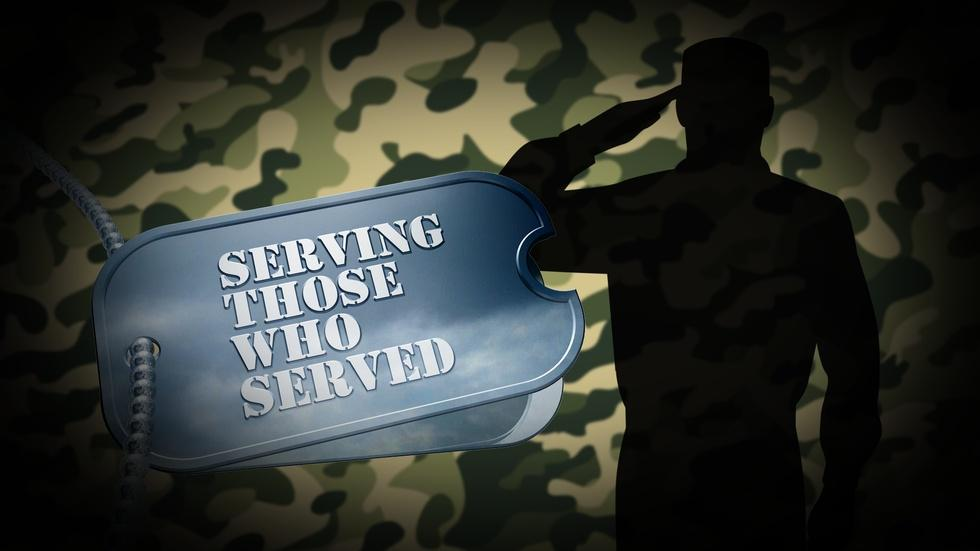 """""""Serving Those Who Served"""" image"""