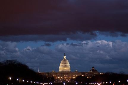 Government shutdown looms over Washington Friday night Video Thumbnail