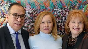 International journalists Corchado and Kocherga