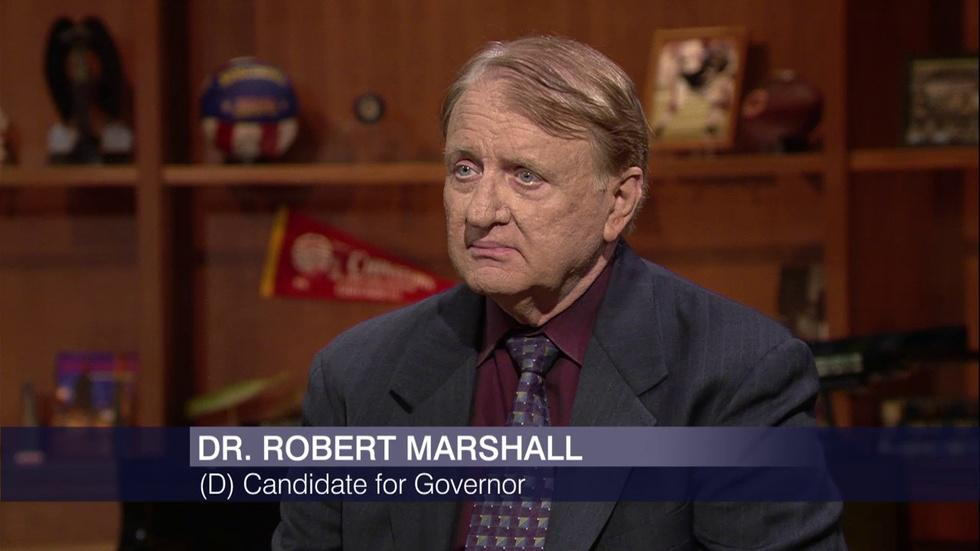 Governor's Race: Marshall's Plan to Split Up the State image