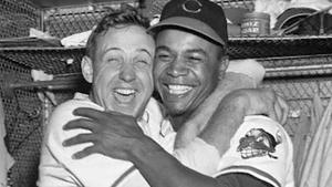 Baseball Legend Larry Doby, Actor Tab Hunter