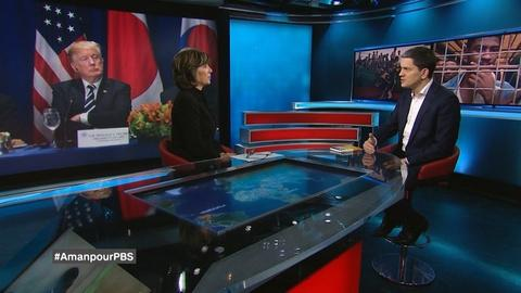 Amanpour on PBS -- AMANPOUR: David Miliband and Human Trafficking