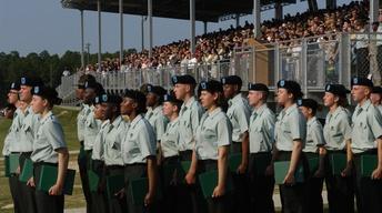 Fort Jackson Graduation Ceremony