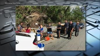 NJ law enforcement officers return from Puerto Rico