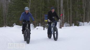 Fat Tire Snow Biking