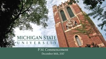 2017 Baccalaureate Degrees (Fall, PM)