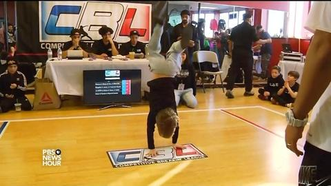 PBS NewsHour -- The funky business of kids' competitive break dancing