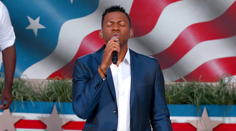 "S2017: Chris Blue Performs ""America the Beautiful"""