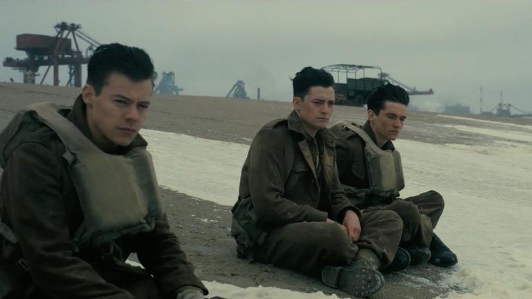 "Flicks: Mark Rylance and Fionn Whitehead for ""Dunkirk"""