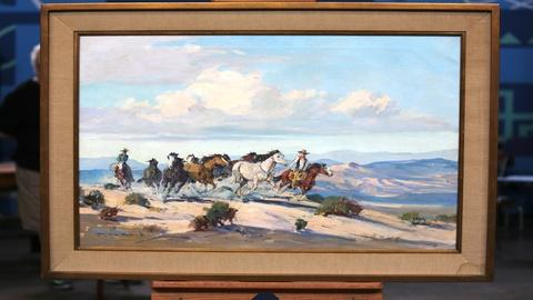 Antiques Roadshow -- Appraisal: Marjorie Reed Oil Painting, ca. 1955