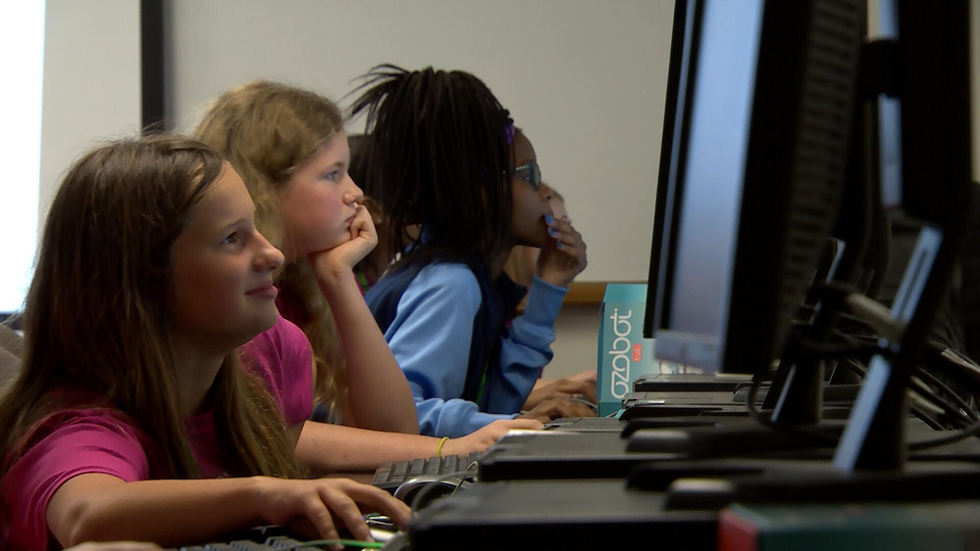 Coding the Future with SciGirls