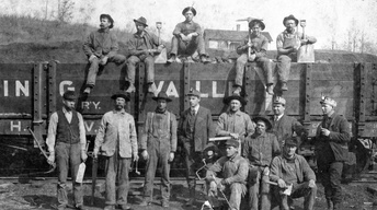 Columbus' Railroad History