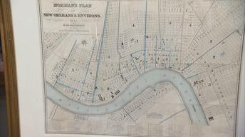 S22 Ep4: Appraisal: 1845 New Orleans Folding Map