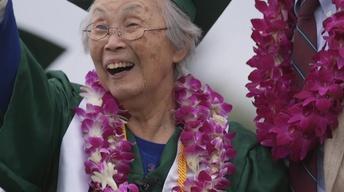 Graduating at 92