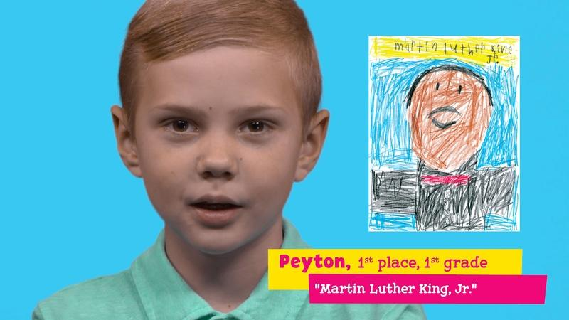 "Featuring ""Martin Luther King, Jr."" by Peyton..."