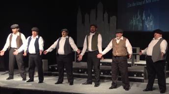 Visalia Players: Boys of Broadway