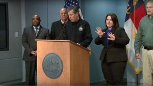 NC Governor Roy Cooper's Weather Briefing - 01/17/18 Morning