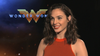 "Gal Godot and Chris Pine for ""Wonder Woman"""