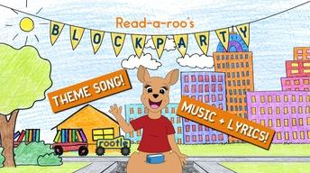 Read-a-roo's Block Party - Theme Song! (Music + Lyrics)
