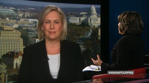 Amanpour on PBS -- Senator Kirsten Gillibrand and Gary Oldman plays Churchill