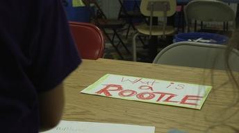Check Out Some Handmade Rootles with Girl Scouts!