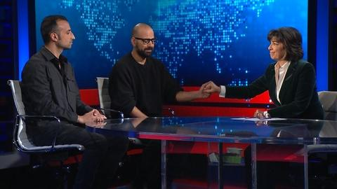 Amanpour on PBS -- Amanpour: Ramin and Mehran Emami and David Yazbek
