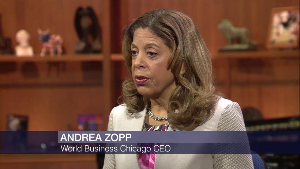 Andrea Zopp's Plans to Attract Business and Development image