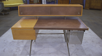 S21 Ep24: Appraisal: George Nelson Desk, ca. 1952