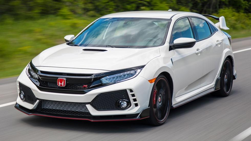 2017 Civic Type R & 2018 Jeep Grand Cherokee Trackhawk image