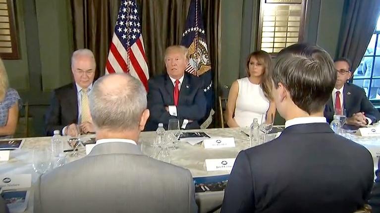 Washington Week: Trump talks Putin, Manafort's FBI raid
