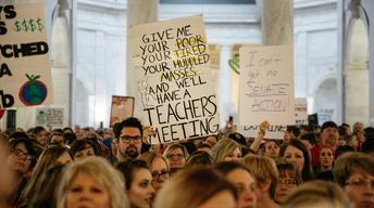 What West Virginia teachers are fighting for