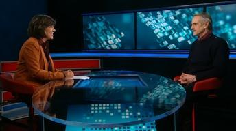 Amanpour: Ksenia Sobchak and actor Jeremy Irons