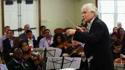 PBS NewsHour -- What orchestras can teach executives about business