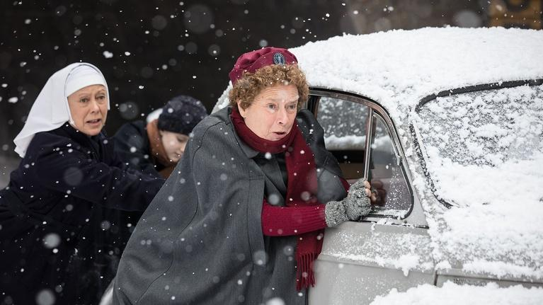 Call the Midwife: Recreating the 'Big Freeze' of 1963