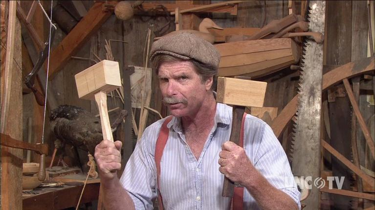 The Woodwright's Shop: Big Ash Mallet!