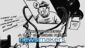 Rube Goldberg: A Lot of Moving Pieces #1708