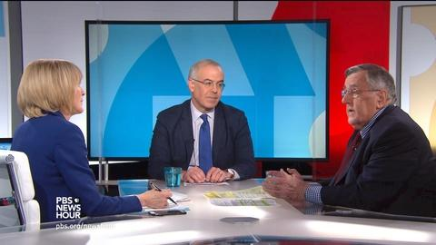 PBS NewsHour -- Shields and Brooks on government shutdown blame