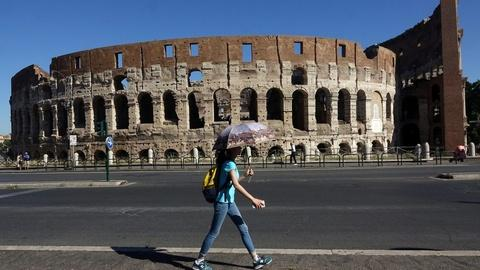 PBS NewsHour -- A fashion company is paying to maintain Rome's Colosseum