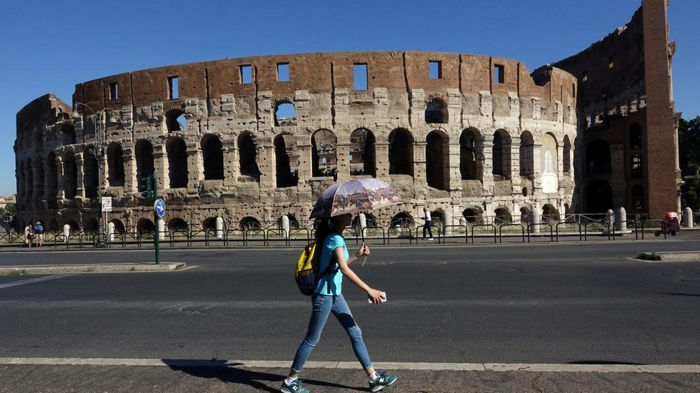 A fashion company is paying to maintain Rome's Colosseum image