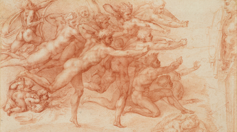 NYC-ARTS Profile: Michelangelo: Divine Draftsman & Designer